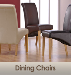 Wooden and Leather Dining Chairs